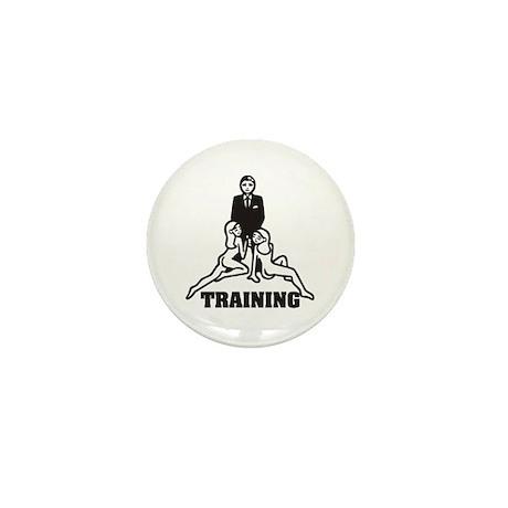 Training Mini Button
