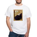 Whistlers / Fr Bull (f) White T-Shirt