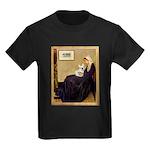 Whistlers / Fr Bull (f) Kids Dark T-Shirt