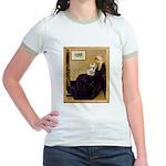 Whistlers / Fr Bull (f) Jr. Ringer T-Shirt