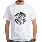 Get Reel Go Fish White T-Shirt