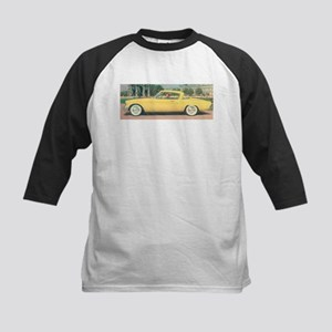 Yellow Studebaker on Kids Baseball Jersey