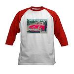 Red Studebaker on Kids Baseball Jersey