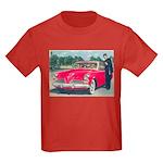 Red Studebaker on Kids Dark T-Shirt