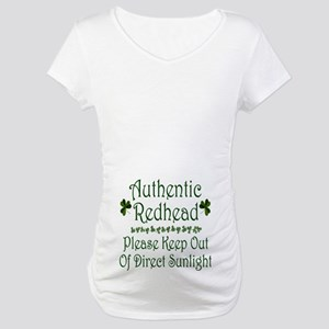 Authentic Redhead Maternity T-Shirt