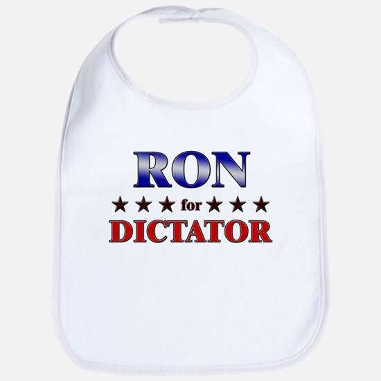 RON for dictator Bib
