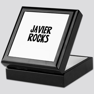 Javier Rocks Keepsake Box