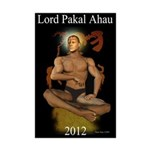 PAKAL IN THE TREE OF LIFE Mini Poster Print