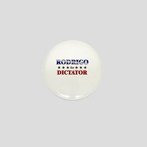 RODRIGO for dictator Mini Button