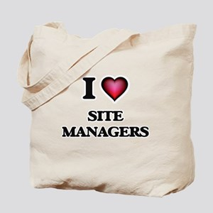 I love Site Managers Tote Bag