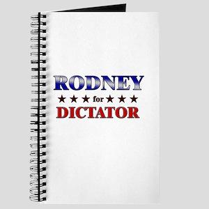 RODNEY for dictator Journal