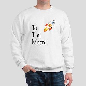 Bitcoin - To The Moon! Sweatshirt