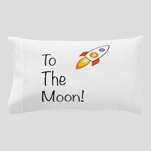 Bitcoin - To The Moon! Pillow Case