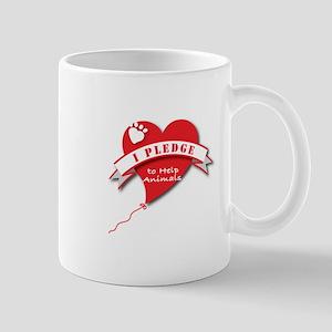 Heart Pledge 11 Oz Ceramic Mug Mugs