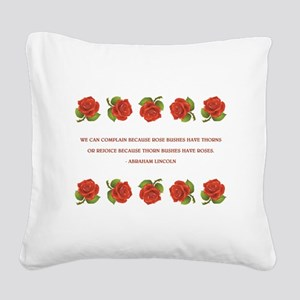 WE CAN COMPLAIN... Square Canvas Pillow