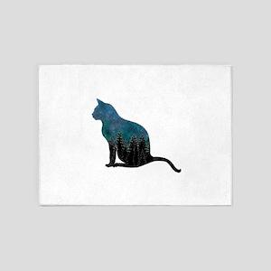 CAT 5'x7'Area Rug