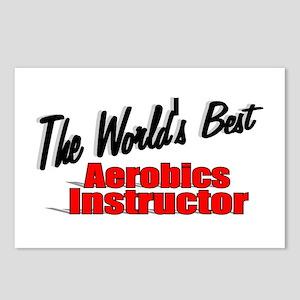 """The World's Best Aerobics Instructor"" Postcards ("