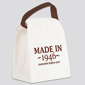 Made In 1946 Canvas Lunch Bag
