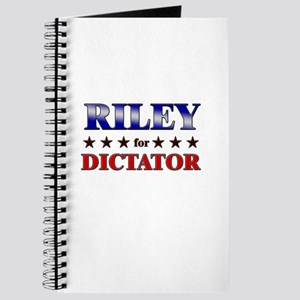 RILEY for dictator Journal
