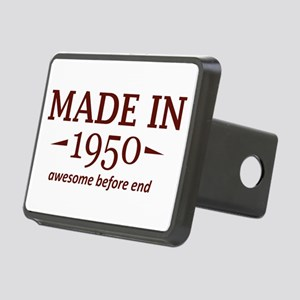 Made In 1950 Rectangular Hitch Cover