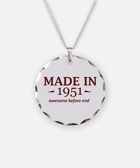 Made In 1951 Necklace