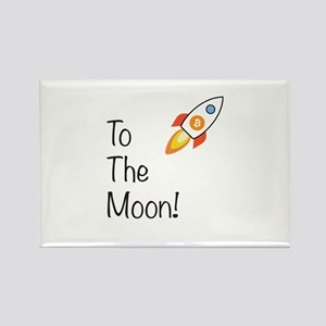 Bitcoin - To The Moon! Magnets