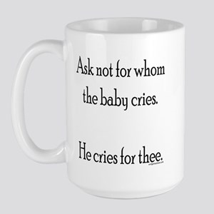 hecriesforthee Mugs