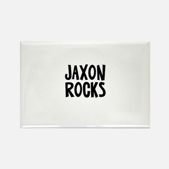 Jaxon Rocks Rectangle Magnet