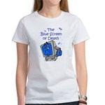 The Blue Screen of Death Women's T-Shirt