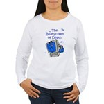 The Blue Screen of Death Women's Long Sleeve T-Shi