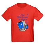The Blue Screen of Death Kids Dark T-Shirt
