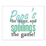 Papa's the Name! Small Poster