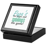 Papa's the Name! Keepsake Box