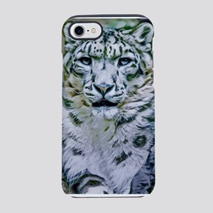 Snow Leopard iPhone 8/7 Tough Case