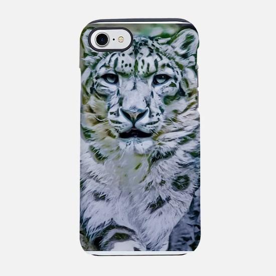 Snow Leopard iPhone 8/7 Tough Case