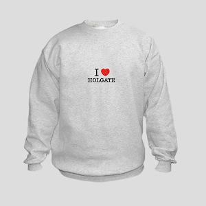 I Love HOLGATE Kids Sweatshirt
