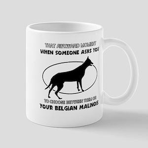 Belgian Malinois Dog Awesome Designs Mug