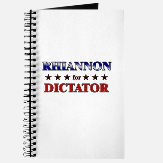 RHIANNON for dictator Journal