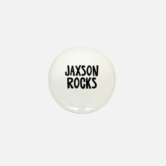 Jaxson Rocks Mini Button