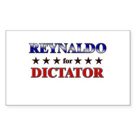 REYNALDO for dictator Rectangle Sticker