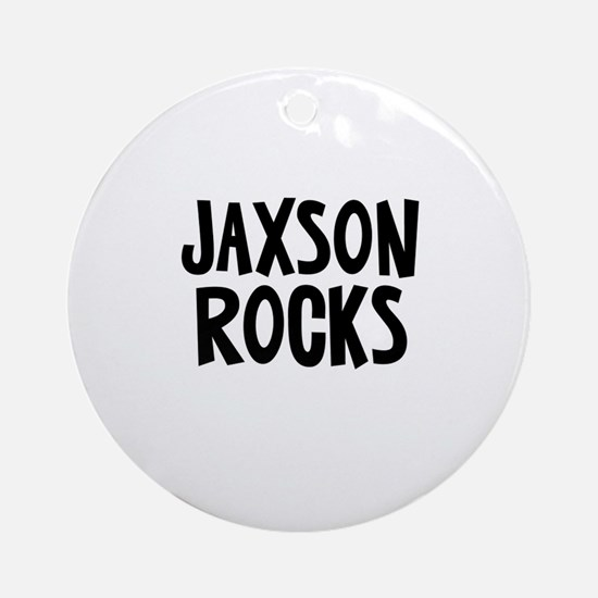 Jaxson Rocks Ornament (Round)