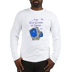 The Blue Screen of Death Long Sleeve T-Shirt