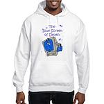 The Blue Screen of Death Hooded Sweatshirt