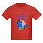 The Blue Screen of Death Kids Dark T-Shirt