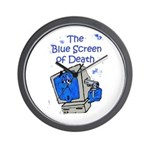 The Blue Screen of Death Wall Clock