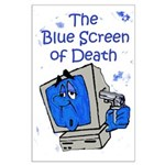 The Blue Screen of Death Large Poster
