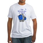 The Blue Screen of Death Fitted T-Shirt