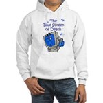The Blue Screen of Death Hooded Sweatshirt