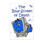 The Blue Screen of Death Mini Poster Print