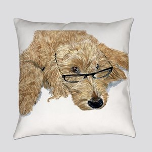 Goldendoodle Stella Everyday Pillow